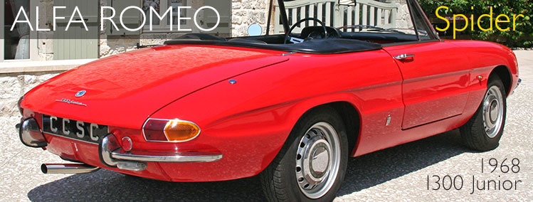 1968 Alfa Romeo Spider Junior for sale
