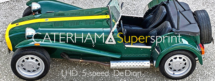 1991 LHD Caterham Supersprint for sale