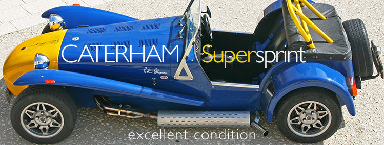 1987 Caterham Supersprint for sale