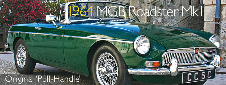 1964 MGB Roadster Mk1 'Pull-Handle' for sale