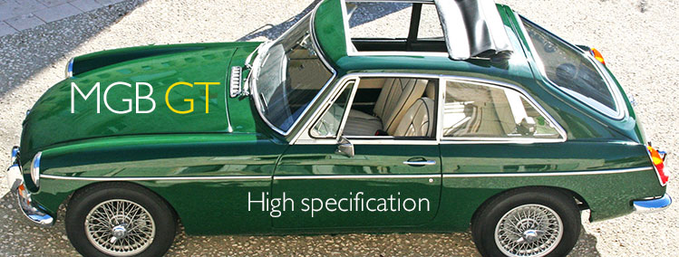 1967 MGB GT high specification for sale