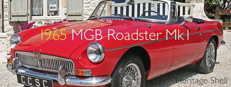 1966 MGB Roadster Heritage Shell for sale