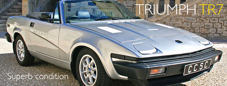 1981 Triumph TR7 for sale