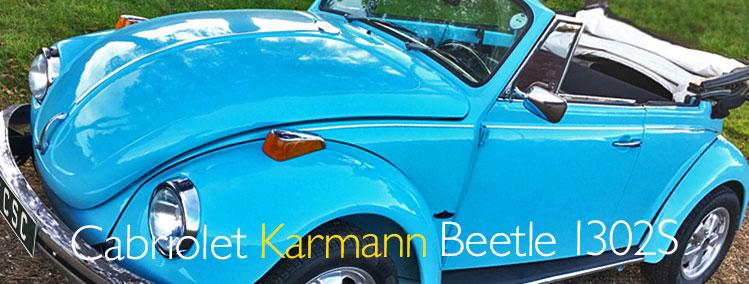 1971 VW Beetle Karmann Cabriolet 1302s