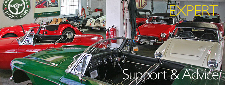 Classic Car support and advice