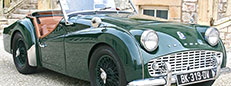 1960 Triumph TR3A with overdrive for sale