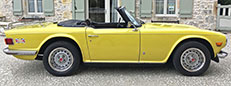 1973 Triumph TR6 with overdrive for sale