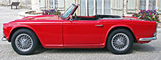 Fully restored Triumph TR4A for sale