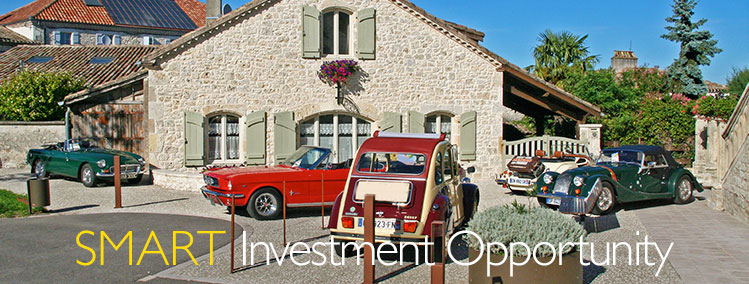 Classic cars make a smart investment opportunity